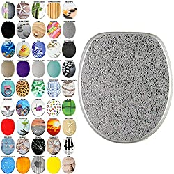 High Quality Toilet Seat Crystal Silver | Great Range of Colorful Toilet Seats | Stable Hinges | Easy to Mount