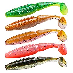 Generic NW210 : Soft Bait 6Pcs 80mm 3.5g 10Colors Noeby Fishing Lure Saltwater/Freshwater Scented Silicone Baits Wobblers Fly Fish Feeder Pesca