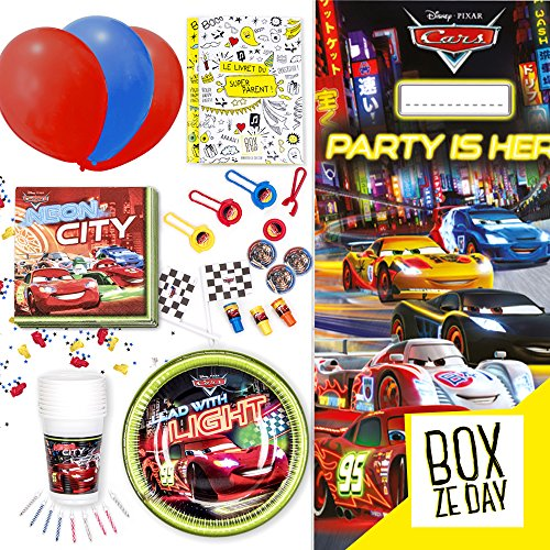 Kit anniversaire – Cars 61a6DhWC2zL