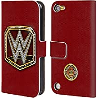 Ufficiale WWE Universal Champion Fascia Della Vittoria Cover a portafoglio in pelle per iPod Touch 5th Gen / 6th Gen