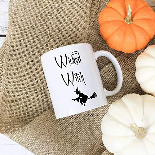 Coffee Mug, Wicked Witch, Halloween Coffee Mug, Halloween Mug, Coffee Mug, Fun Halloween Mug, Fun Coffee Mug ()
