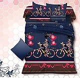 Shopcrats 3D-Print Double Bedsheet with ...