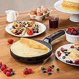 Padelle Delimano, Black, Pancake Maker 800.00watts