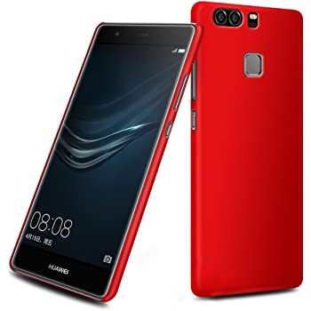 Wow Imagine™ Rubberised Matte Hard Case Back Cover for Huawei Honor 8 - Maroon Wine Red