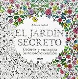 El jardín secreto: Colorea y encuentra los tesoros escondidos