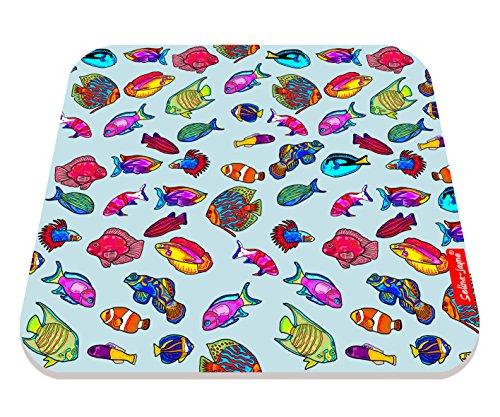 Selina-Jayne Tropische Fisch Limitierte Auflage Designer Mauspad