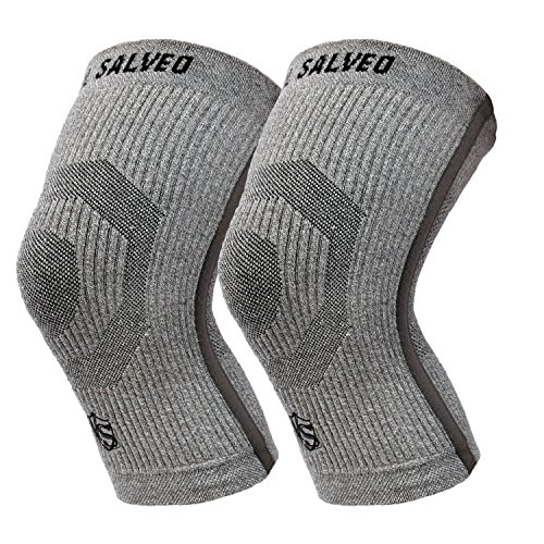 206816b43e Vital Salveo-Compression Recovery Knee Sleeves/braces ST3-Stay Warm, Ideal  for Sports and Daily Wear, Pain Relief, Protects Joint- Large (1 Pair)