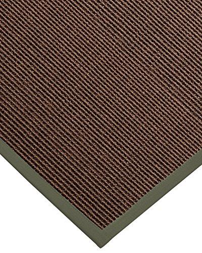 NaturalAreaRugs Alma Custom Sisal Teppiche, grün, 3' x 5' - 3' Sisal-teppich