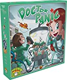 Doctor Panic Brettspiel, englische Version mit Spielkarten und Anleitung in englischer Sprache