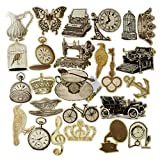 #8: AsianHobbyCrafts Beautiful Decorative & Artistic Cards Diy Cuts Set of 25pcs for Scrapbooking and DIY Cards making.