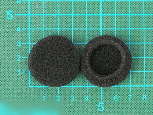 WEWOM 2 Ersatz Universal Schaumstoff Polster für Kopfhörer, Durchmesser: 35mm - 4