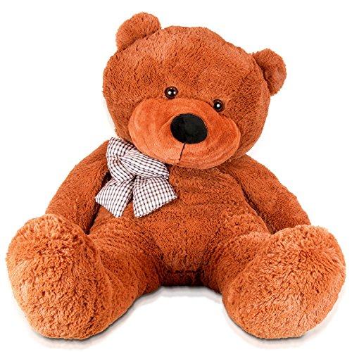 YunNasi-gigante-oso-de-peluche-juguete-de-animal-buen-compaero-120-cm-marrrn-oscuro