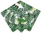 Talking Tables Serviettes en Papier Cocktail Feuille de Palmier Tropicale, 20pk, Vert
