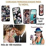 Funda para movil personalizada Carcasa con tu Foto Logo preferido compatible con Samsung Galaxy S7 Edge