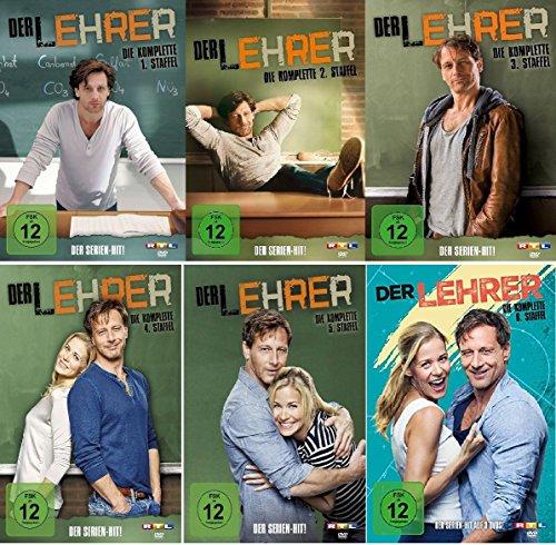Preisvergleich Produktbild Der Lehrer - Die komplette Staffel 1-6 im Set - Deutsche Originalware [15 DVDs]