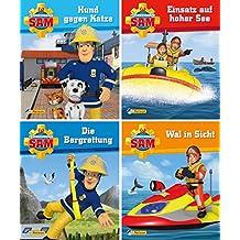Nelson Mini-Bücher: 4er Feuerwehrmann Sam 5-8