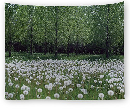 Tapestry, hippie tapestry, wall hanging decorativo, copriletto matrimoniale,psichedelico,forest garden, 150x130cm