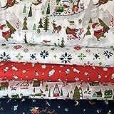 Riley Blake RBFB266 Stoffpaket für Weihnachten, 5 Fat