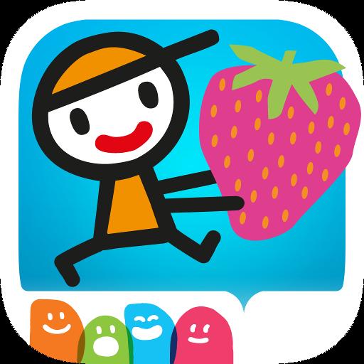 D5EN5: Las frutas: Un libro juego interactivo para niños