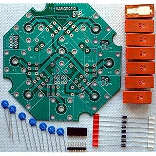 Ham Amateur Radio Remote antenna switch DIY KIT up to 7 antennas SO-239 / N type