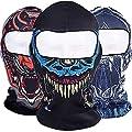 Bazaar 3D Schädel Radfahren Motorrad volles Gesicht Kini Ski Balaclava Maske UV Vollgesichtsmaske schützen