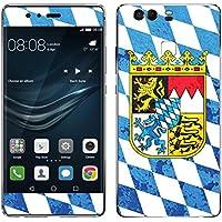 """Disagu Design Skin für Huawei P9 Design Folie - Motiv """"Bayern-Mauer"""""""