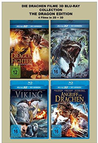 Die Drachen Filme 3D Blu-ray Collection [The Dragon Edition] (Drache Jane)