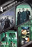 4 Film Favorites: The Matrix Collection (The Matrix / The Matrix Reloaded / The...