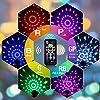 Discokugel Discolicht Kinder | LED Party Lampe Beleuchtung mit Fernbedienung & USB | Discolicht Lichteffekt | 7 Farbe RGBP | Geburtstag Xmas Halloween Feier Bühne