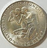 BRD (BR.Deutschland) Jägernr: 403 1972 F vorzüglich Silber 1972 10 DM Olympiade Sportler (Münzen für Sammler)