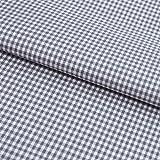 Hans-Textil-Shop Stoff Meterware, Vichy Karo 2x2 mm, Grau, Baumwolle