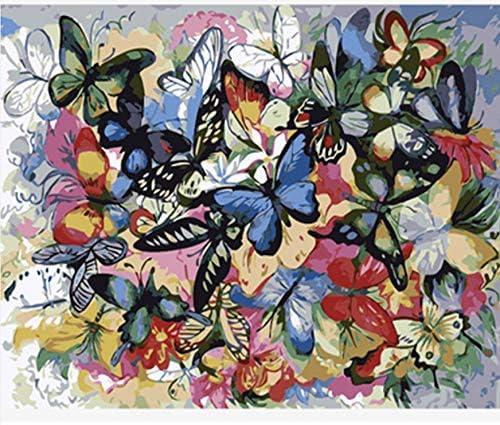 VVNASD Puzzles pour Adultes 1000 Piece Piece Piece Papillon De Calligraphie Peint À La Main pour La Décoration De Salon Jouets Jeux Amusants en Bois Educatif Explorez La Créativité Et La Résolution De Problèmes | Outlet  8050e6