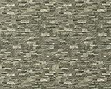 3D Stein Vliestapete EDEM 918-35 XXL geprägte Naturstein Bruchstein-Optik hochwertig braun grau 10,65 qm