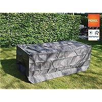 Perel Garden oct140funda para mesa de jardín de Máx 140cm, Antracita, 145x 105x 75cm