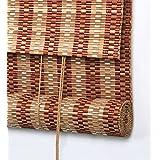 LIQICAI Pefect Persiana Bambú Decoración de bambú para Patio Patio Belcony, 160 cm de largo, 3 tamaños disponibles ( Color : #2 , Tamaño : B-W 100*L 160CM )