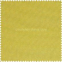 Nueva Luz Peso suave fácil de limpiar tejido exterior impermeable ideal para persianas cojines cortinas sofás muebles Color Amarillo–se vende por metro.