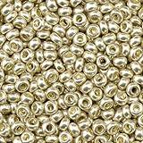 efco 1022191 2,6 mm 17 G cuentas indias metálico, plateado