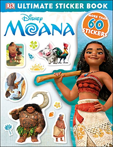 Disney Moana (Ultimate Sticker Books) por Dk