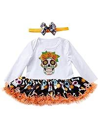 K-youth Vestido para Niñas, Vestidos Niña Otoño Invierno Tutu Princesa Vestido de niñas
