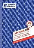 Avery Zweckform 1720 Lieferschein