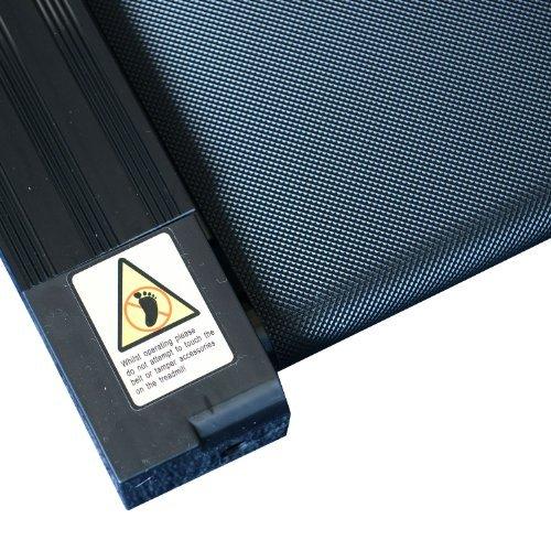 Homcom Laufband Elektrisches Fitnessgerät Klappbarer Heimtrainer mit LCD-Display 150 kg Belastung 500 W, schwarz-silbergrau, B1-0097 - 6