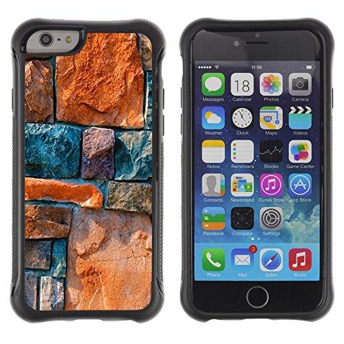 Graphic4You CHICKEN AND WAFFLES Muster Shockproof Anti-Rutsch Weichen Hülle Case Tasche Schutzhülle für Apple iPhone 6 Plus / 6S Plus Design #1