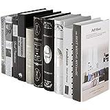 Healifty 1pcs Libros Decorativos Libros de imitación llenan una estantería Pila estantería en casa exhiben estantería en el h