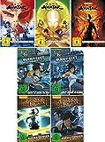 Die Legende von Korra - Buch 1 und 2 + Avatar - Herr der Elemente 1-3 (17 DVDs)
