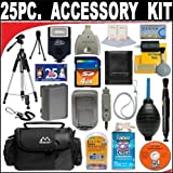 25 PC ULTIMATE SUPER SAVINGS DELUXE DB ROTH ACCESSORY KIT For The Canon Powershot A3500