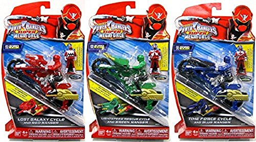 Power Rangers - Super Megaforce - Cycle & Ranger - RANDOM (Ranger-schlüssel Super Megaforce)