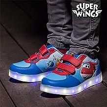 Scarpe sportive con led super wings (1000036040)