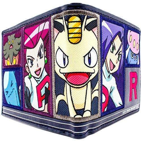 Cartera de Nintendo Pokemon Equipo Rocket Meowth Armada