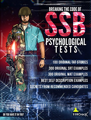 Breaking The Code of SSB Psychological Tests [Free eBooks Inside] -SSB Interview