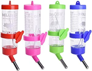 DOUGE COUTURE 250ml Leak Proof Water Bottle for Hamster/Dwarf/Gerbil/Mice/Guinea Pig/Ferret/Rabbit